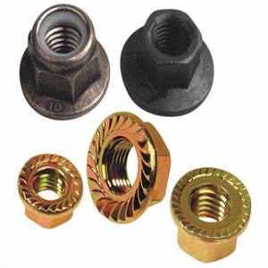 Large Serrated Flange Locknut