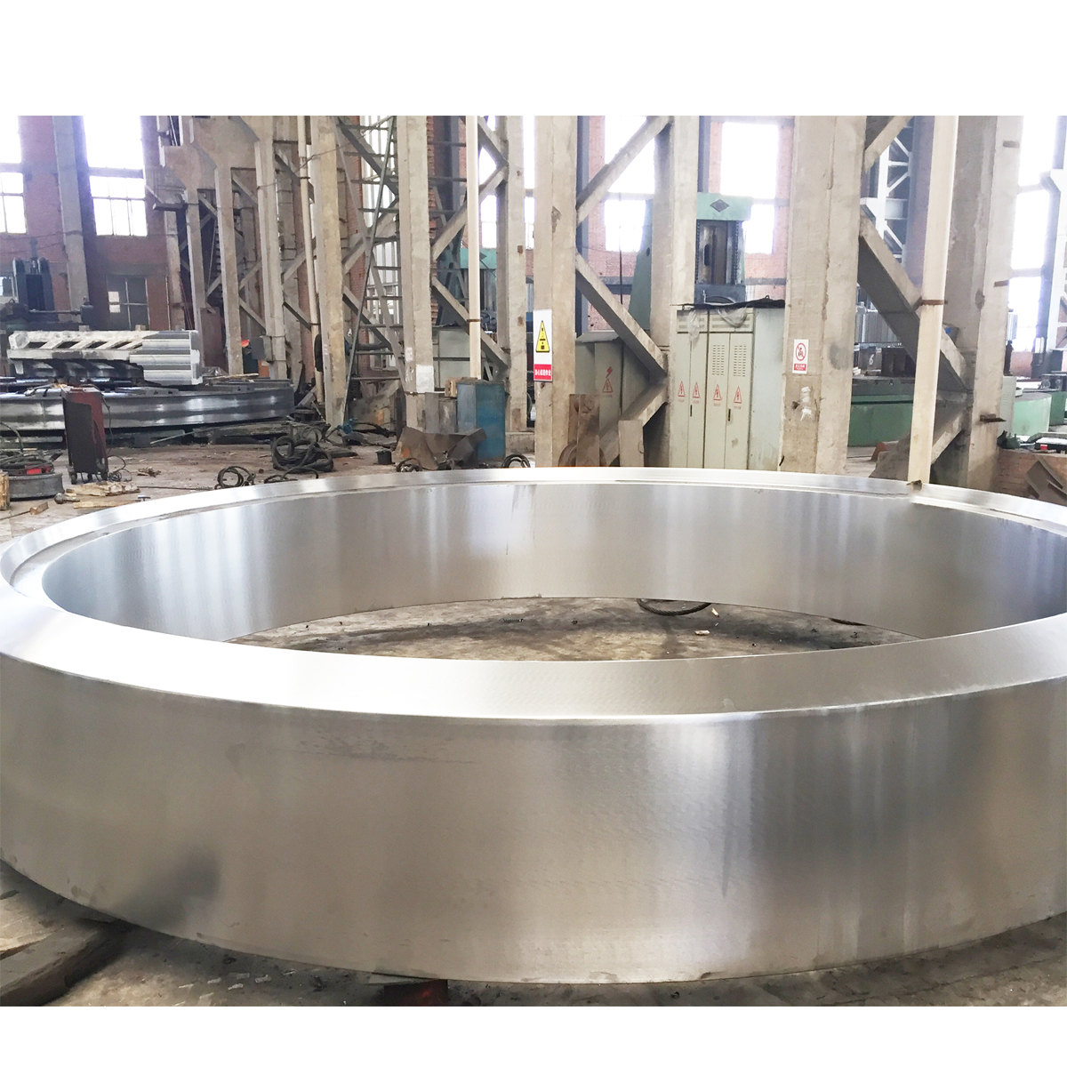 Customized Rotary kiln tyre Spare Part For Cement Plant