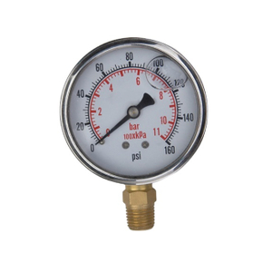 Bourdon Tubes Mechanical Air Pressure Gauge for Gaseous and Vacuum pressure gauge