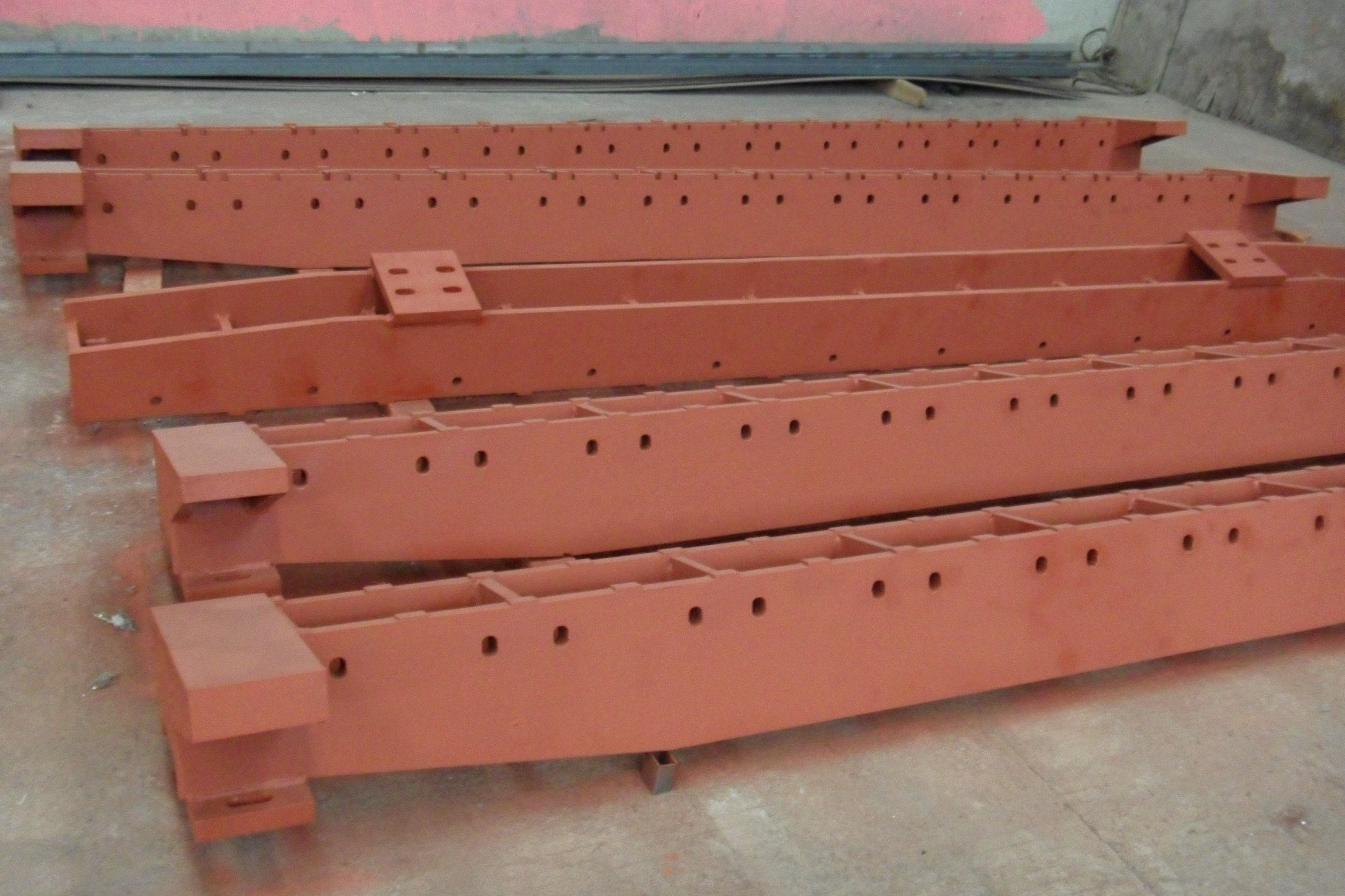 Wear resistant parts high energy durable cast steel grate plate