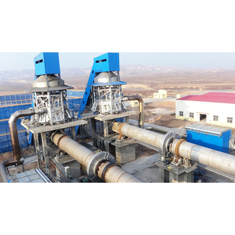 Quick Rotary Drum Mine Cooling System Tuber Cooler for Cement Plant