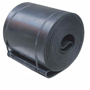 High Tensile Strength Durable Black Rubber Conveyor Belt