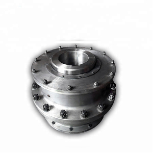 Large Rigid Steel Type Spline Gear Shaft Coupling